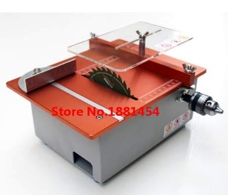 Pukido 2019 Aluminum Micro Table Saw DIY Mini Cutter Acrylic Wood PCB Cutting machine - (Brand: New, Plug Type: None)