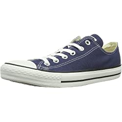 Converse Unisex Chuck Taylor All Star Ox Sneakers Navy M9697 Size 7.5 Mens/9.5 Womens