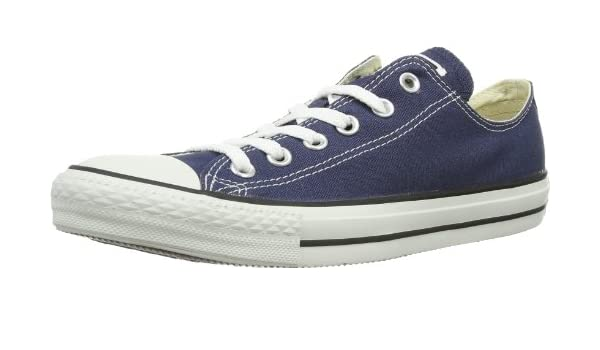 Converse Chuck Taylor All Star Ox Low Top Blue-navy Blue Sneakers - 7.5 D(M) US