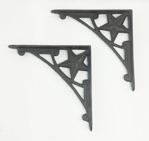 rustic cast iron star - 3