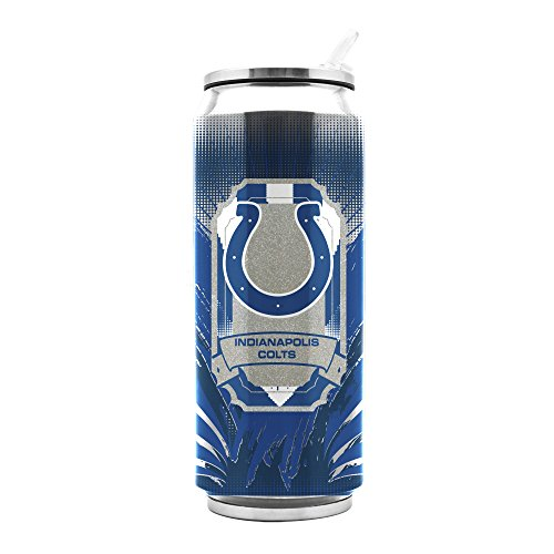 Nfl Duck - NFL Indianapolis Colts 16oz Double Wall Stainless Steel Thermocan