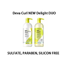 Deva Curl Delight Low-Poo and One-Condition Duo, 32 Ounce by DevaCurl