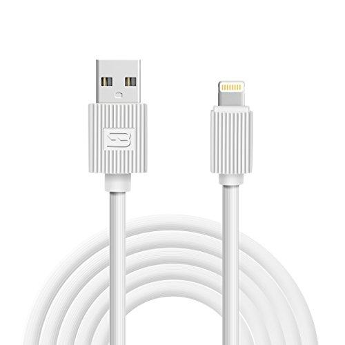Generic KABEL SUPER IPhone Kabel 3 Pack 6FT Lightning zu USB Kabel für iPhone 7, SE, 5,5s, 6,6s, 6 Plus, iPad Luft, Mini, iPod (weiß) (WEISS)