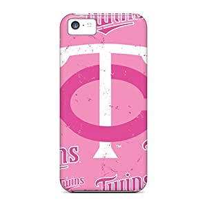 Iphone 5c MSw7821PJdC Allow Personal Design HD Minnesota Twins Image Shockproof Hard Phone Cover -AlissaDubois