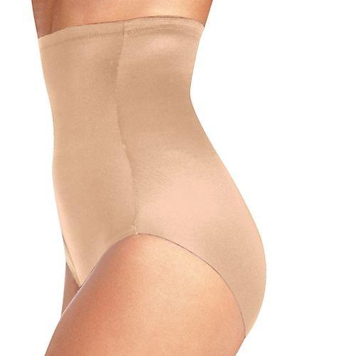 Naomi and Nicole Women's Plus-Size Unbelievable Comfort Plus Hi Waist Brief, Nude, 5X