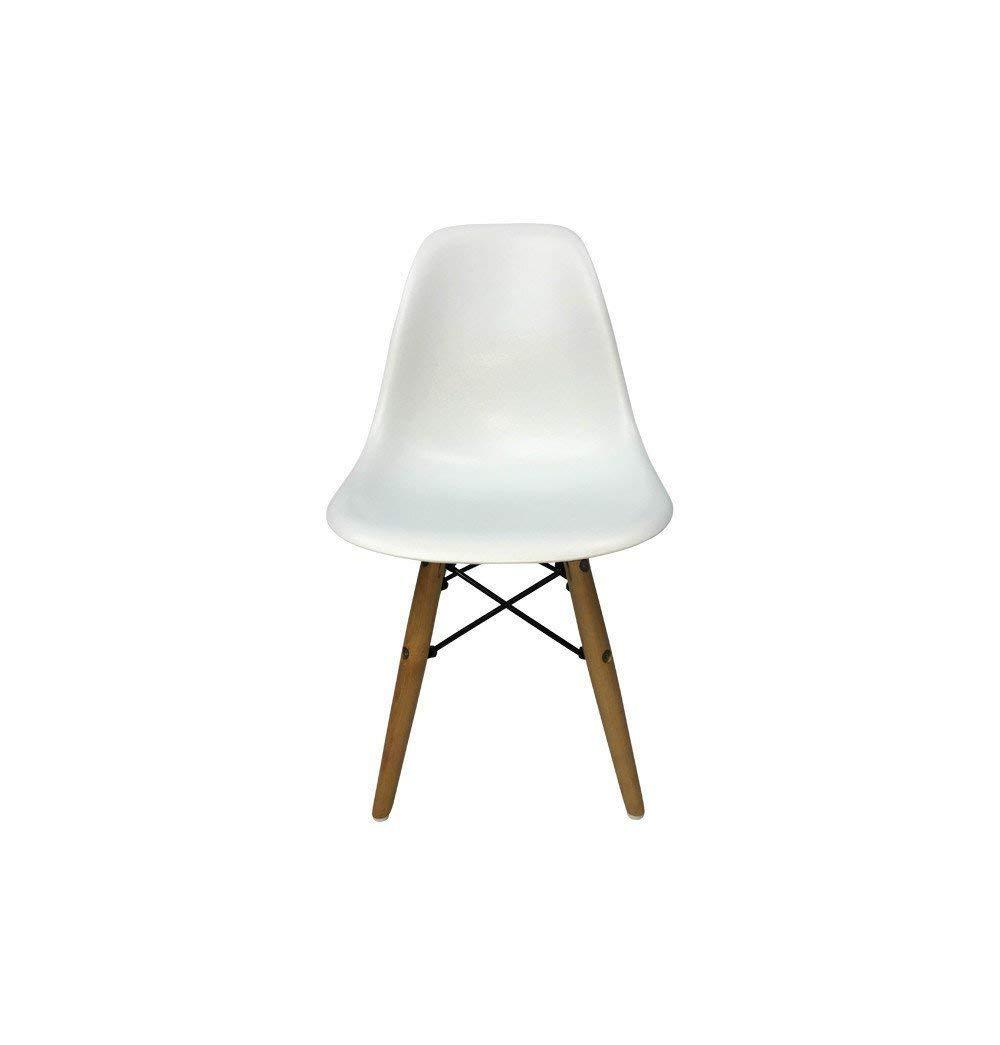 Eiffel DSW Chair for Kids Wooden Natural Legs Mid-Century Modern