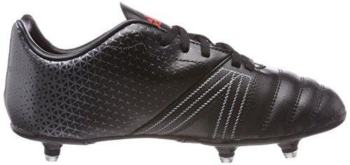 adidas All Blacks SG, Botas de Rugby Unisex Niños Negro (Negbas / Roalre / Nocmét 000)