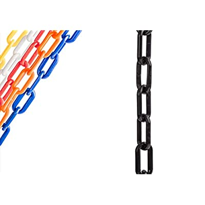 US Weight Chainboss Black Plastic Safety Chain with Sun Shield UV Resistant Technology - 10 ft: Industrial & Scientific