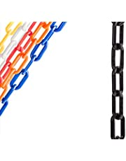 US Weight-U2325 Chainboss Black Plastic Safety Chain with Sun Shield UV Resistant Technology - 25 ft