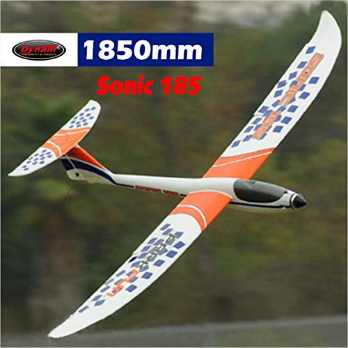 DYNAM RC Airplane Sonic 185 Glider 1850mm Wingspan - PNP ()
