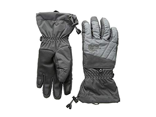 (The North Face Kids Unisex Montana Gore-Tex¿ Gloves (Big Kids) Graphite Grey/Tnf Medium Grey Heather LG)