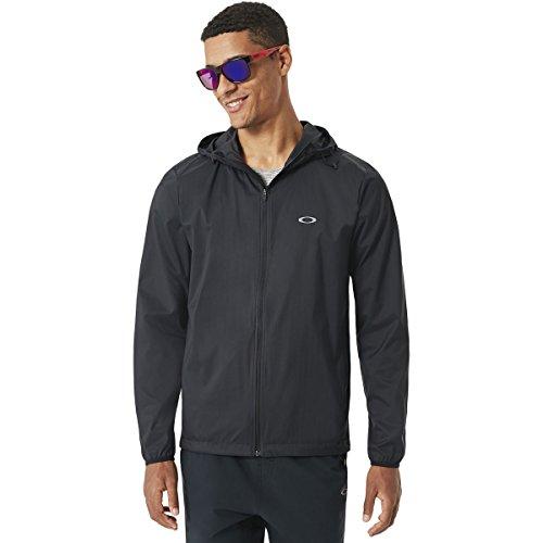Oakley Windbreaker - Oakley Men's Icon Windbreaker Jackets,X-Large,Blackout