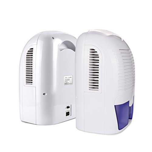 Lowest Price Powilling 1500ml Portable Quiet Dehumidifier For Home Basement Bedroom Bathroom