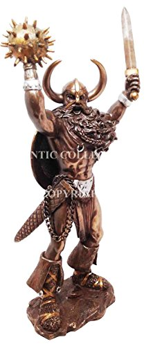 Law Paperweight (ONE HANDED GOD TYR STATUE LAW HEROIC GLORY JUSTICE NORSE MYTHOLOGY PAGANISM)