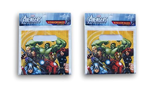 Party Supply - Avengers Assemble - 16 Party