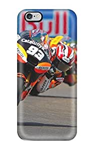 Durable Defender Case For Iphone 6 Plus Tpu Cover(marc Marquez Gp Abyss )