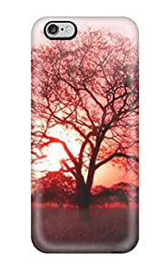 ZippyDoritEduard Scratch-free Phone Case For Iphone 6 Plus- Retail Packaging - Red Tree