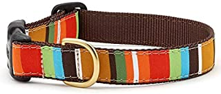 product image for Up Country Brown Stripe Dog Collar - Large