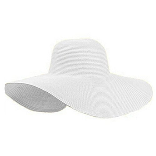 White Floppy Sun Hat: Amazon.com