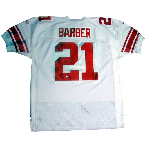 - Steiner Sports NFL New York Giants Tiki Barber 2005 Authentic White Jersey