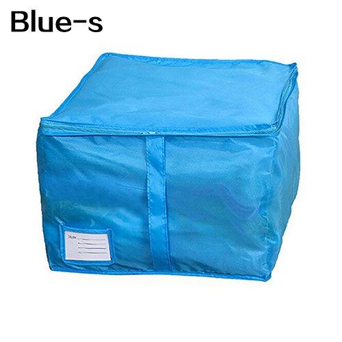 yanbirdfx Clothes Bedclothing Duvet Pillows Zipper Storage Bag Box Hand Handles Luggage Rose-m by yanbirdfx (Image #5)