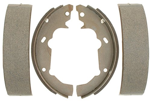 ACDelco 14665B Advantage Bonded Rear Brake Shoe Set