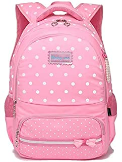 ea82bdd5ddc1 Reelay mee 18L Nylon and Fabric Light Weight Pink Backpack