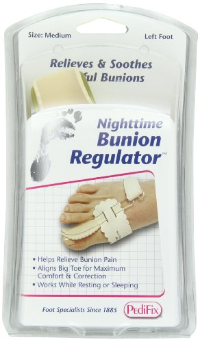 PediFix Nighttime Bunion Regulator, Left, Medium