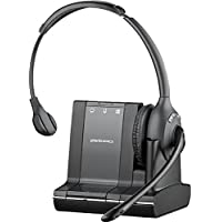 Plantronics Savi W710 Mono Wireless Headset System For Telephone, PC and Mobile (Certified Refurbished)
