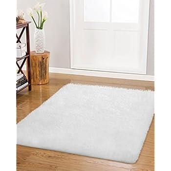 Amazon.com: Vista Living Claudia Shag Area Rug 3.5 ft. x 5