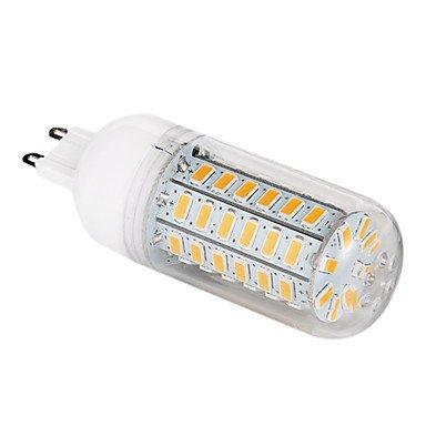UR LED Corn Lights 5 pcs G9 12 W 56 SMD 5730 1200 LM Warm White / Cool White T Corn Bulbs AC 220-240 V