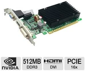 evga 512 P3 1301 TX EVGA 512 P3 1301 GeForce 8400GS 512MB DDR3 32BITS PCI E 2 0 Video Card 512 P3 1301 TX