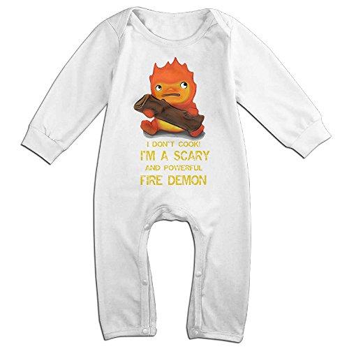Ahey Newborn Moving Castle Long Sleeve Romper Bodysuit 18 Months