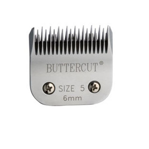 Geib Buttercut Stainless Steel Dog Clipper Blade, Size-5 Skip Tooth, 1/4-Inch Cut Length, My Pet Supplies