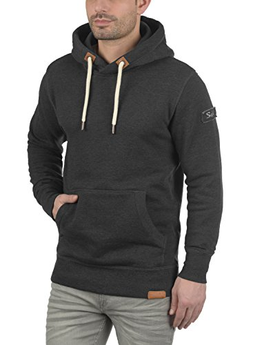 Grey Sweat Capuche À Pull Homme solid Triphood Pour Dark 8288 Hoodie Polaire Doublure Melange PRUHWFWn