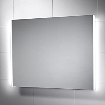 Adara LED Bathroom Mirror 600mm X 800mm With Built In Bluetooth Audio Demister