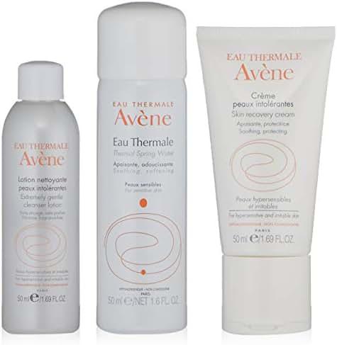 Eau Thermale Avene Hypersensitive Skin Regimen Kit for Sensitive and Irritated Skin