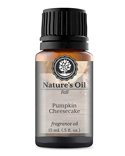 Pumpkin Cheesecake Fragrance Oil (15ml) For Diffusers, Soap Making, Candles, Lotion, Home Scents, Linen Spray, Bath Bombs, Slime]()