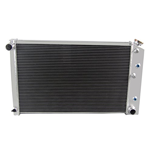 Chevy El Camino Radiator Core (Primecooling 3 ROW CORE ALUMINUM RACE RADIATOR FIT Chevy Nova 1970-81 /Camaro 1970-81 /El Camino 1978-87)