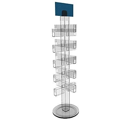 Amazon fixturedisplays greeting card display stand rack fixturedisplays greeting card display stand rack rotating acrylic clear lucite plexiglass 10025 m4hsunfo