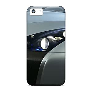 LJF phone case Brand New 5c Defender Case For Iphone (beautiful Car)
