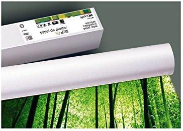 Fabrisa 79103018 - Rollo de papel para plóter, 180 g, 914 mm x 30 m: Amazon.es: Oficina y papelería