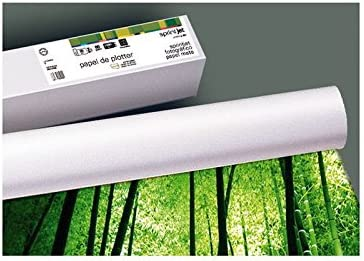 Fabrisa rollo de plotter. 1067x30 mm. 180grs. color mate.: Amazon.es: Oficina y papelería
