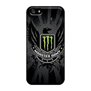 New Iphone 5/5s Cases Covers Casing(monster Army Logo)