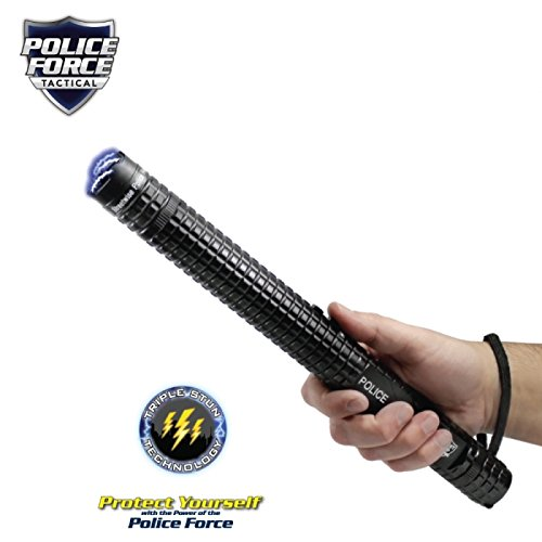 Police Force 12,000,000- HEAVY DUTY- Tactical Stun Flashlight- Qty 1 by