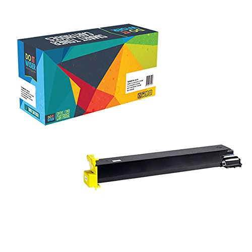 Do it Wiser Compatible Toner Cartridge for Konica Minolta Bizhub C250 C252 - Yellow 12,000 Pages (12 Yellow Toner)