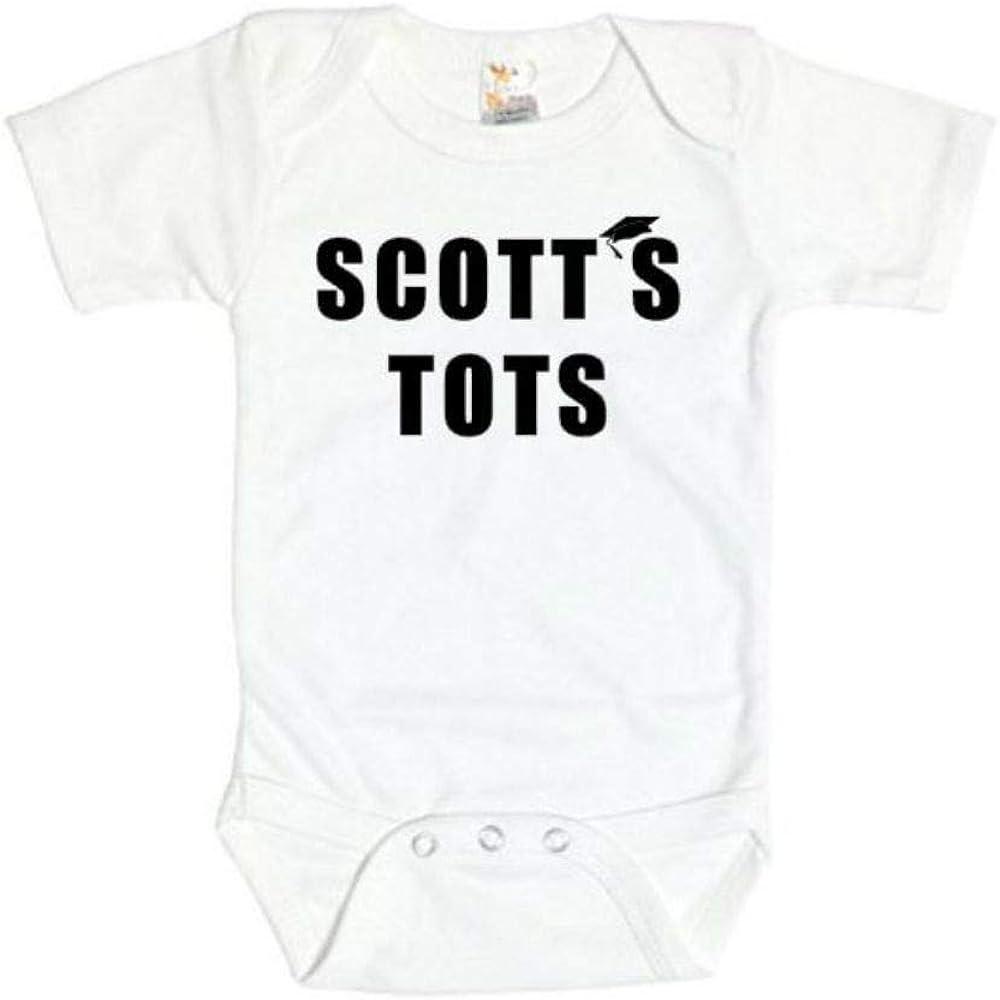 The Office Onesie/Scott's Tots/Funny Baby Outfit/Unisex Newborn Bodysuit