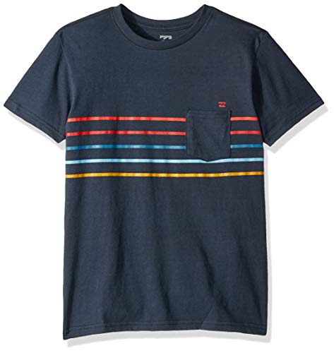 Billabong Boys' Spinner T-Shirt Navy Small