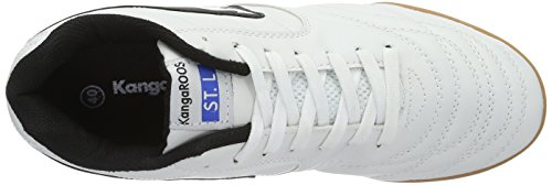 Kangaroos K-Yard 3021 B, Men's Low-Top Sneakers White (White/Black)