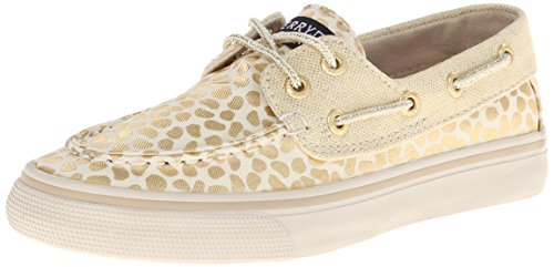 Sperry Top-Sider Bahama Boat Shoe ,Gold/Abstract Dot,2.5 M U